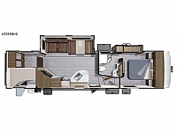 2018 Highland Ridge RV Open Range Light Fifth Wheel 295BHS Rear Bunks 2 Slides Outdoor Kitchen CONCORD NC