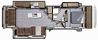 2018 Highland Ridge Light Fifth Wheel 291RLS Rear Living room 3 Slides Kitchen Island Booth Dinette CONCORD NC