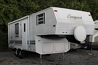 2000 Gulf Stream Conquest 23FRBD 5th Wheel Camper Rear Bath Very Clean Duncan SC