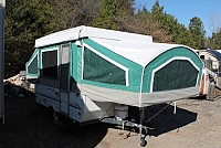 2002 Coachmen Clipper Sport Plus 107 Pop Up Camper Roof A/C Duncan SC