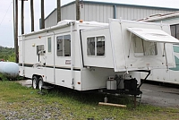 2002 Coleman Caravan 25SL Travel Trailer Front Bed Slide Wall Slide Great Storage Duncan SC