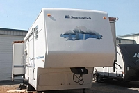 2002 Sunnybrook 34BWTS 5th Wheel Camper Rear Living 3 Slides w/Toppers W/D Prep Ceiling Fan Very Roomy Duncan SC