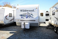 2006 Forest River Wildwood 27BHSS Rear Twin Bunks Full Shower Booth Dinette Storage Space One Slide CONCORD NC