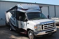 2008 Jayco Melbourne 26A Class C Gas Motorhome Ford Chassis and V10 Onan Generator Low Miles Generous Storage Leather Seats Backup Camera Duncan SC