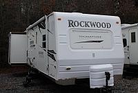 2008 Rockwood 8313 Travel Trailer Rear Living Area 2 Slides Front Window Clean Duncan SC