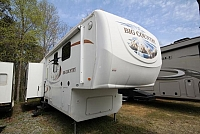 2010 Big Country Fifth Wheel 3250TS Rear Living Large Windows Spacious Layout 3 Slide Outs Corner Radius Shower CONCORD NC