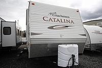 2011 Coachman Catalina 27FBCK One Slide Rear Bath Great Condition CONCORD NC