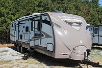 2012 CrossRoads Cruiser 31QB Travel Trailer Bunkhouse 2 Slides Outside Kitchen Power Jacks Duncan SC
