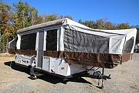2014 Rockwood Freedom 2560G Pop-Up One Slide Fold Up Shower Toilet U-Shaped Dinette Storage Space Very Nice Must See CONCORD NC