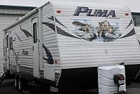 2013 Puma 26RLSS Travel Trailer Rear Living 1 Slide 6500lbs Duncan SC