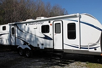 2013 Shadow Cruiser 313BHS Travel Trailer Bunkhouse 2 Slides Mega Lounge Outside Kitchen Duncan SC