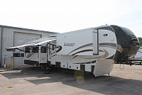 2014 Dutchmen Infinity 3800FB 5th Wheel Camper Rear Living 4 Slides 2 A/C's Bath and a Half Washer/Dryer 4 Door Fridge Fireplace Large Pantry Duncan SC