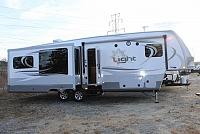 2016 Open Range Light 319RLS Three Slides Huge Rear Living Room Island Kitchen HD Half Ton Towable Fifth Wheel Concord NC