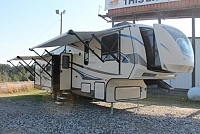 2014 Sunset Trail 32RL 5th Wheel Camper Rear Living 3 Slides 2 A/C's Outside Kitchen Cargo Rack w/Toolbox Fireplace Duncan SC