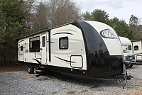 2015 Forest River Vibe 268RKS Travel Trailer Rear Kitchen 1 Slide Large Counter Outside Kitchen Power Jacks Large Pantry Duncan SC