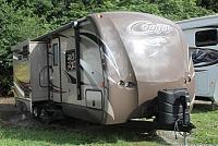 2015 Keystone Cougar 26RBI Travel Trailer Rear Bath 2 Slides Kitchen Island Large Pantry Duncan SC