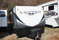 2015 Skyline Layton 198BH Travel Trailer Bunkhouse Outside Shower Outside Fridge and Sink Twin Axle Duncan SC