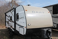 2015 Skyline Layton Dart 214RB Travel Trailer Rear Bath 1 Slide Outside Shower U Dinette 1 Owner Duncan SC