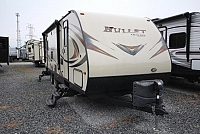 2016 Ultra Lite Bullet 269RLS Rear Living Recliners One Slide Two Entries Brown Leather Decor Well Maintained CONCORD NC