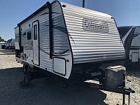 2016 Dutchmen Coleman Lantern 225QB Lightweight Single Slide Rear Bathroom Travel Trailer Duncan SC