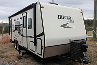 2016 Flagstaff Micro Lite 25KS Rear Bath 1 Slide Murphy Bed Large Bath 4400lbs Duncan SC