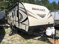 2016 Keystone Bullet 243BHS Single Slide Bunkhouse Travel Trailer Duncan SC