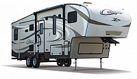 2016 Keystone Cougar XLite 29RLI 5th Wheel Camper Rear Living 3 Slides 2 A/C's Auto Level Light weight Duncan SC
