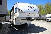 2017 Keystone Hideout 308BHDS Double Slide Bunkhouse Fifth Wheel Outside Kitchen Concord NC