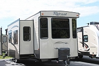 2016 Keystone Retreat 39MKTS Destination Travel Trailer 3 Slides 2 A/C's Washer/Dryer Residential Fridge Outside Shower Duncan SC