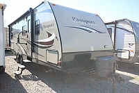 2016 Passport 2670BH Double Bunks One Slide U-Shaped Dinette Outdoor Kitchen Full Size Shower Plenty Of Storage Must See CONCORD NC