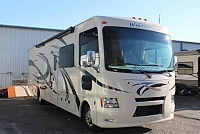 2016 Thor Windsport 34J Class A Gas Motorhome Ford Chassis and V-10 Backup and Mirror Cameras Super Slide Bunkhouse 6 TV's Outside Kitchen Onan Generator Low Miles Duncan SC