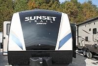 2017 CrossRoads Sunset Trail 289QB Bunkhouse Travel Trailer 1 Slide 3 Singles plus Dinette in Bunkroom Outside Kitchen Duncan SC