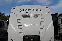 2017 CrossRoads Sunset Trail 33RL Rear Living Travel Trailer 3 Slides 2 Awnings Power Jacks Outside Kitchen Duncan SC