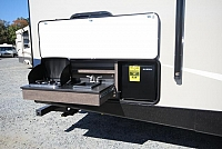 2017 Crossroads Sunset Trail 289QB Quad Bunk Outside Kitchen Stainless Steel Package Concord NC
