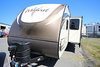 2017 Forest River Wildcat 281DBK Bunkhouse Double over Double Outside Kitchen CONCORD NC