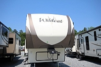 2017 Forest River Wildcat 363RB Bunkhouse Outside Kitchen 2 Full Bathrooms Luxury Fifth Wheel Concord NC