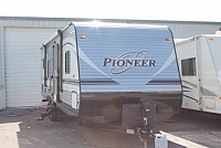 2017 Heartland Pioneer RK280 Travel Trailer Rear Kitchen 1 Slide Cargo Carrier Outside Shower Large Kitchen Counter Space Duncan SC