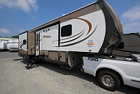 2017 Highland Ridge Mesa Ridge 367BHS Four Slide Bunkhouse Fifth Wheel w/ Outdoor Kitchen Concord NC
