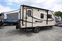 2018 Keystone Bullet Crossfire 1650EX Lightweight Hybrid Easy to Pull CONCORD NC