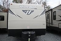2018 Keystone RV Hideout 232LHS Rear Bath Lightweight Outdoor Kitchen Corner Radius Shower CONCORD NC