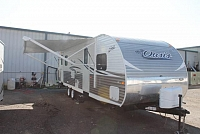 2017 Shasta Oasis 26RL Travel Trailer Rear Living 1 Slide Super Clean Duncan SC