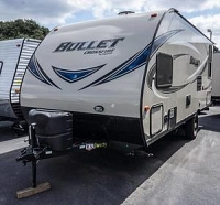 2018 Thor Keystone Bullet Crossfire 1900RD Rear U-Shaped Dinette LED Lighting Full Bathroom Queen Bed CONCORD NC