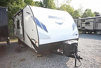 2018 Thor Keystone Bullet Crossfire 2200BH Rear Teddy Bear Bunks Front Murphy Bed Tan Interior CONCORD NC
