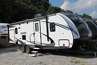 2018 CrossRoads Sunset Trail 253RB Travel Trailer Rear Bath New Decor 1 Slide Outside Kitchen Large Pantry 3 Year Structural Warranty Duncan SC