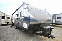 2018 Crossroads Zinger 280BH Rear Bunk House One Slide Outside Kitchen U-Shaped Dinette Fireplace CONCORD NC