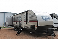 2018 Forest River Cherokee 304BH Travel Trailer Bunkhouse 3 Slides Fireplace Blue Accent LED's Outside Fridge Solar Prep Duncan SC