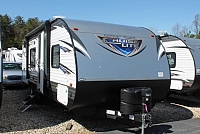 2018 Forest River Salem 261BHXL Travel Trailer Bunkhouse Lippert Solid Step Double over Double Bunks Walk Around Queen Outside Kitchen w/Grill Power Jacks Duncan SC