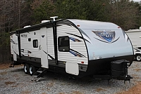 2018 Forest River Salem 263BHXL Travel Trailer Bunkhouse Power Jacks Double Bunks 1 Slide Lippert Solid Step Duncan SC