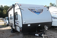 2018 Forest River Salem Cruise Lite 187RB Travel Trailer Rear Bath New Interior Colors Power Jacks and Awning Walk-in Shower Under 3000lbs Duncan SC