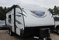 2018 Forest River Salem Cruise Lite 201BHXL Travel Trailer Bunkhouse Murphy Bed Power Jacks and Awning Lippert Solid Step 4300lbs Duncan SC